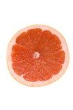 Grapefruit. Sliced juicy bright grapefruit isolated on white Stock Images
