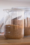 Grapefruit Almond Oil Scrub set Royalty Free Stock Images