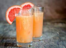 Grapefruit And Tequila Paloma Cocktail Stock Photos