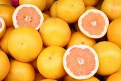 Grapefruit background Stock Images