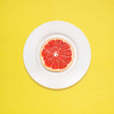 Grapefruit for breakfast. Stock Photography
