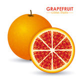 Grapefruit citrus fruit Royalty Free Stock Images