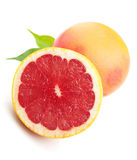 Grapefruit clouse up Stock Photos