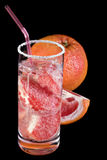 Grapefruit cocktail Royalty Free Stock Photos
