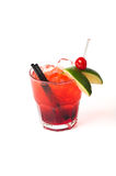 Grapefruit cocktail Royalty Free Stock Images
