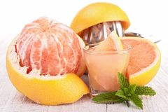 Grapefruit cocktail Stock Photography
