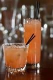 Grapefruit cocktails Stock Image