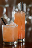 Grapefruit cocktails Royalty Free Stock Images