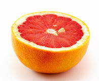 Grapefruit cut in half Stock Photo