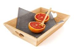 Grapefruit for diet Stock Photos