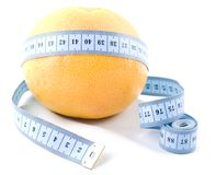 Grapefruit diet symbol Stock Images