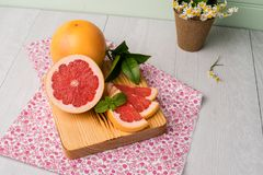 grapefruit dojrzały obrazy royalty free