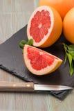 grapefruit dojrzały zdjęcia royalty free