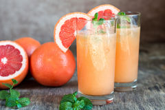 Grapefruit en Tequila Paloma Cocktail stock afbeelding
