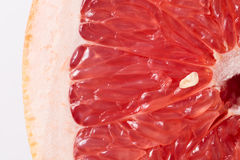 Grapefruit. Extreme close up background Royalty Free Stock Images