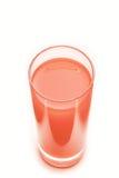 Grapefruit fresh juice isolated on white background Royalty Free Stock Photo