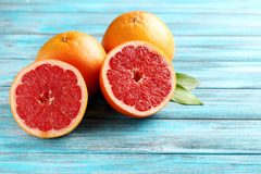 Grapefruit fruits Stock Photo
