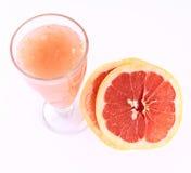 Grapefruit and Grapefruit juice Stock Photography