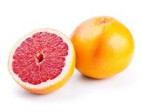 Grapefruit with half Royalty Free Stock Photo