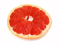 Grapefruit half Stock Photo