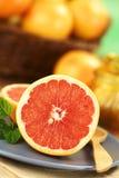 Grapefruit stock photo