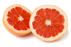 Grapefruit halves Stock Photo