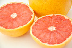 Grapefruit Halves Royalty Free Stock Photos