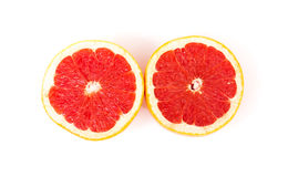 Grapefruit Halves Royalty Free Stock Photo