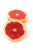 Grapefruit Halves Stock Photography