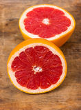 Grapefruit Halves Stock Images