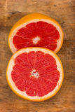 Grapefruit Halves Royalty Free Stock Photography