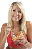 Grapefruit, a Healthy Snack Stock Photos