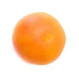 Grapefruit isolated. Tasty juicy grapefruit isolated on white royalty free stock photo