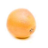 Grapefruit isolated. Tasty juicy grapefruit isolated on white Royalty Free Stock Images