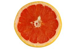 Grapefruit isolated Stock Photo