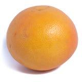 A grapefruit isolated close up. Close up grapefruit isolated on white background stock images
