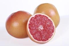 Grapefruit isolated on white Stock Photos
