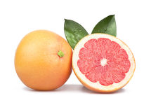 Grapefruit isolated Stock Images