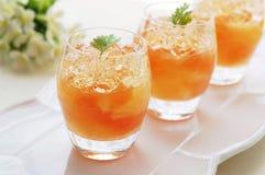 Grapefruit Jelly Stock Photos