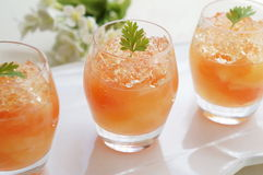 Grapefruit Jelly Royalty Free Stock Image
