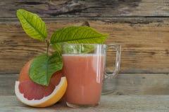 Grapefruit juice Royalty-vrije Stock Foto