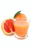 Grapefruit and juice Stock Photo