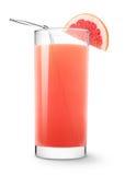 Grapefruit juice royalty free stock images