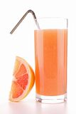 Grapefruit juice stock foto's