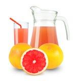 Grapefruit juice royalty-vrije stock afbeelding