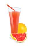 Grapefruit juice royalty-vrije stock fotografie