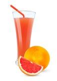 Grapefruit juice stock afbeeldingen