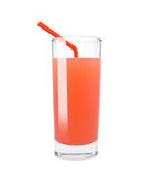 Grapefruit juice stock afbeelding