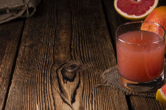 Grapefruit juice stock fotografie