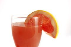 Grapefruit juice royalty-vrije stock fotografie